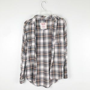 Mossimo | Lightweight Flannel Boyfriend Fit